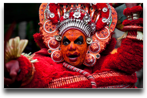Theyyam Art - Parassini - Das Residency
